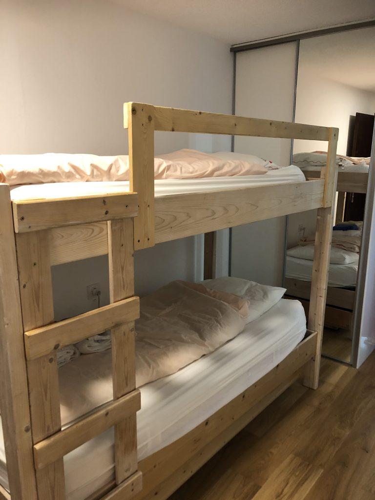 les lits superposés